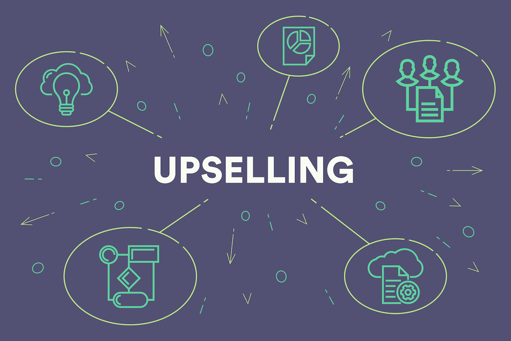 Upselling Title Graphic